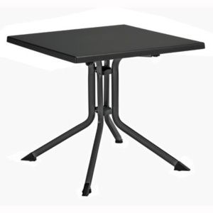 Table pliante 80 x 80 x 74 cm – Anthracite – Kettler
