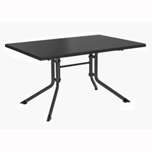 Table pliante 115 x 70 x 74 cm – Anthracite – Kettler