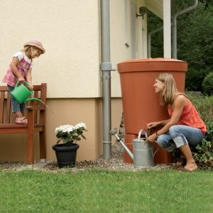 Récupérateur d'eau Toscana 300L Garantia