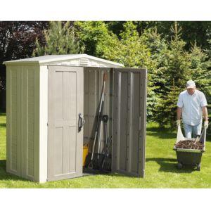 Petit abri de jardin résine Keter 2.03 m² sans entretien Sydney 63 – Plantes et Jardins – Jardinerie en ligne