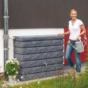 Récupérateur d'eau mural Rocky Redstone 400L, Garantia