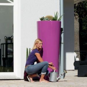 Kit Récupérateur d'eau Color 350L Cassis, Garantia