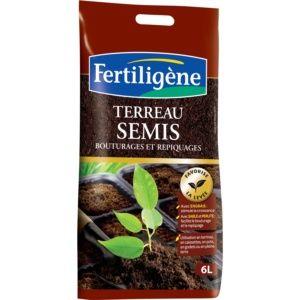 Terreau semis 6L Fertiligène Plantes et Jardins Jardinerie en ligne