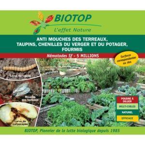 Nématode Sf 5 millions contre chenilles du verger Biotop