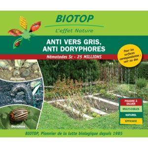 Nématodes Sc contre vers gris (noctuelles, tipules, courtilières) Biotop