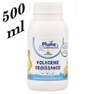 Volacrine – Complément alimentaire pour croissance et mue 500 ml