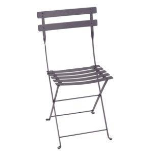 Chaise pliante Fermob Bistro acier prune