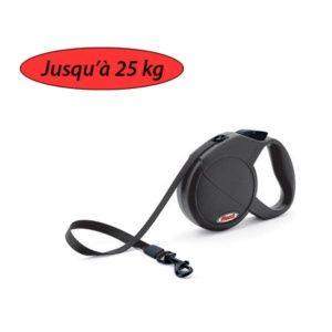 Laisse Flexi Compact n°2 pour chiens jusqu'à 25 kg