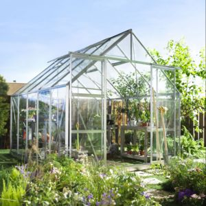 Serre de jardin Magnum verre horticole 8.3 m² - Halls