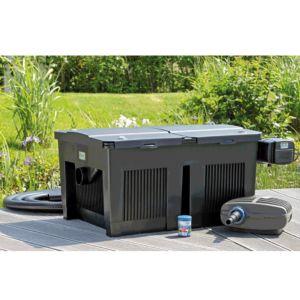 Kit filtre gravitaire BioSmart Set 24000 Oase. PLANTES-ET-JARDINS – Jardinerie en ligne