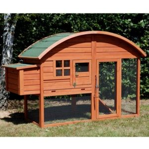 Poulailler Louisiane 2 à 3 poules PLANTES-ET-JARDINS – Jardinerie en ligne