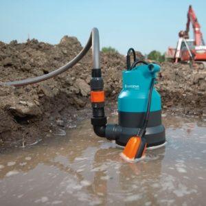 Pompe d'évacuation pour eaux chargées 6000 classic – Gardena