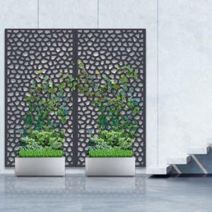 Pack panneau décoratif Mosaïc vertical supplémentaire sur sol meuble – 1m x 2m  – Nortene