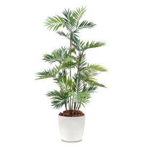 Palmier Parlour H180cm semi-artificiel avec pot elho blanc