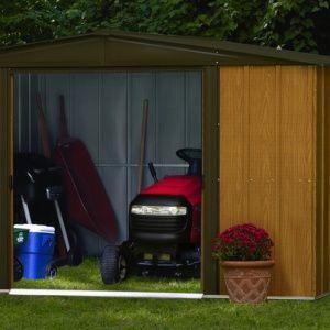 Abri de jardin métal Arrow 5.66 m² Ep. 22 mm