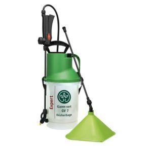 Pulvérisateur désherbant à Pression Préalable 7L + allonge et cache conique – Gamm Vert