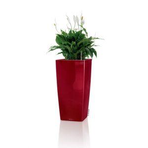 Pot Lechuza Cubico Premium L30 H56 cm rouge