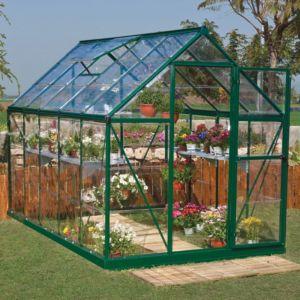 Serre de Jardin Harmony 5.7 m² polycarbonate + ouverture automatique offerte – Palram