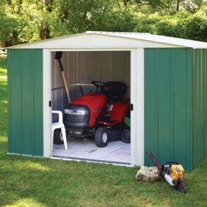Abri de jardin métal Chalet et Jardin 7,60 m² Ep. 0,22 mm