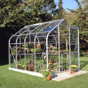 Serre de jardin Supreme verre horticole 5m² Halls Eden Greenhouses