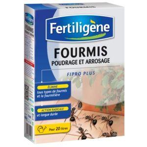 Fourmis poudrage et arrosage – Fertiligène