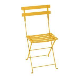 Chaise pliante Fermob Bistro acier miel