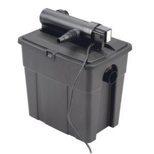 Kit filtration bassin gravitaire multichambres MultiClear 5000, incluant filtre UVC et pompe de filtration Plantes et Jardins – Jardinerie en ligne