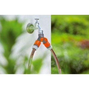 Sélecteur 2 circuits pour robinet – Gardena
