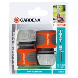 Raccords rapides 15 mm (lot de 2) – Gardena