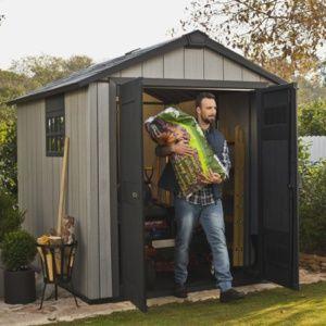 Abri de jardin résine Keter 5.11 m² Ep. 20 mm Brossium – Plantes et Jardins – Jardinerie en ligne