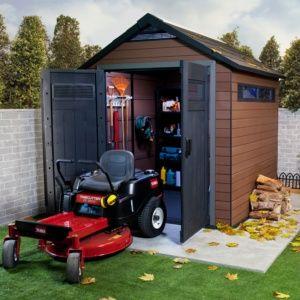 Abri de jardin composite Keter Fusion 5.11 m² Ep.20 mm