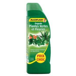 Engrais Plantes vertes et fleuries 800 mL Algoflash