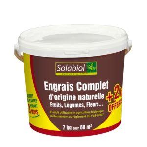Engrais complet Bio 5 +2 Kg – Solabiol