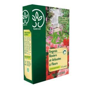 Engrais Rosier / Arbustes 800 g - Gamm vert