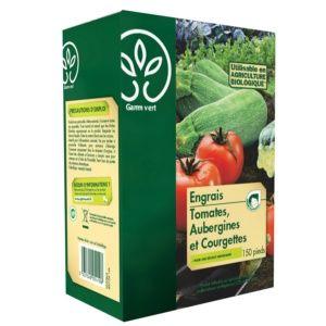 Engrais Tomates-aubergines-Courgettes 3 Kg – Gamm Vert
