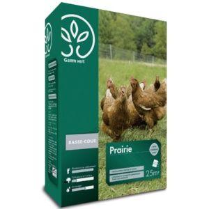 Prairie Basse-Cour avec engrais  - Gamm vert