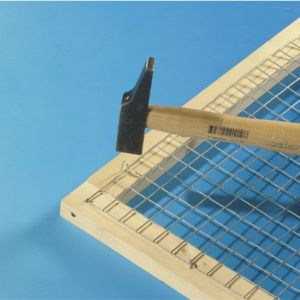 Grillage galvanisé maille carrée 19mm  1x5m – Nortène