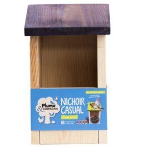 Nichoir Casual grande entrée couleur Violet – Néodis