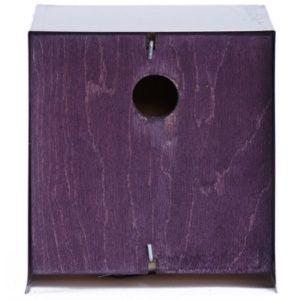 Nichoir cube Diam 28 mm de couleur Violet – Néodis