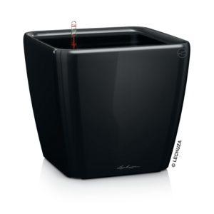 Pot Lechuza Quadro Premium L35 H33 cm noir