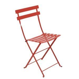 Chaise pliante Fermob Bistro acier capucine