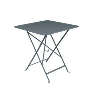 Table pliante Fermob Bistro l71 L71 cm  acier gris orage