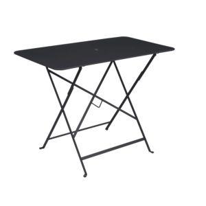 Table pliante Fermob Bistro l97 L57 cm acier carbone