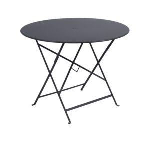 Table pliante Fermob Bistro Ø96 cm acier carbone