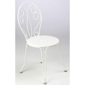Chaise empilable Fermob Montmartre acier Blanc coton