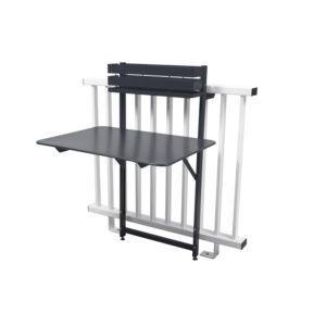 Table de balcon pliante Fermob Bistro l77 cm carbone