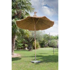 Parasol bambou Ø250 H230 cm