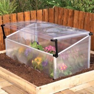 Serre de jardin châssis polycarbonate 0.55 m² Palram