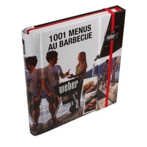 Livre de recette '1001 menus au barbecue'