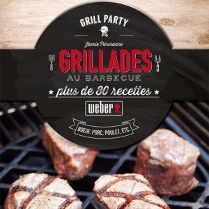 Livre de recettes 'Grillades au barbecue'